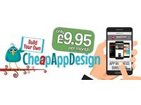 Get a Mobile App for only £9.99 per month. Get your business mobile !