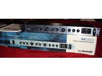 tc electronic M350 dual engine effects processor - reverb, delay, chorus, compression, flanger...