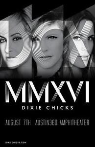 DIXIE CHICKS DCX World Tour MMXVII