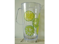 Plastic pitcher jug
