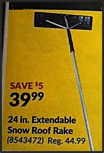 I WANT TO BUY - roof rake - something like the picture