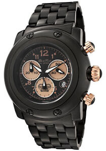 Glam-Rock-Watch-GK1116-Womens-Miami-Chronograph-Black-Dial-Black-Ion-Plated-SS