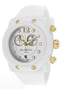 Glam-Rock-Watch-GK1134-Womens-Miami-Beach-Chronograph-White-Dial-White-Silicone