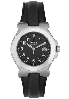 Lady's Hugo Boss Leather strap watch  Ret$895 Brand New