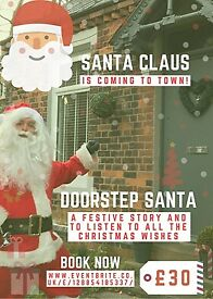 Santa Doorstep Visit Newcastle