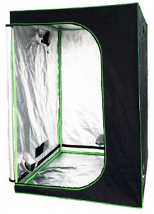 GROW TENT - 4ft x 4ft x 6ft - REFLECTIVE - BRAND NEW