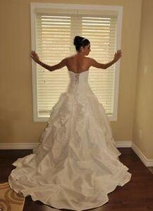 Elegant Light Weight Wedding Dress by David's Bridal