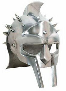 Medieval-Roman-Gladiator-Helmet-of-Maximus-Decimus-Meridius-Armor-Helm-LARP