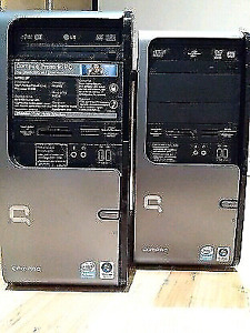 Two Compaq Presario PC SR5310F & SR5410F