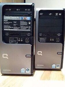 Two Compaq Presario PC SR5310F & SR5410F