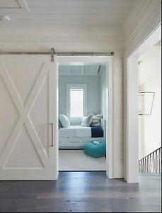 RECLAIMED BARNBOARD SLIDING DOORS