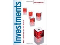 Investments Paperback-Keith Cuthbertson-Second Edition