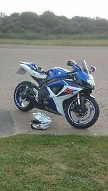 gsxr600 k7, new tyres, gp race can, 1 previous owner, 2 keys, full service history, well maintained