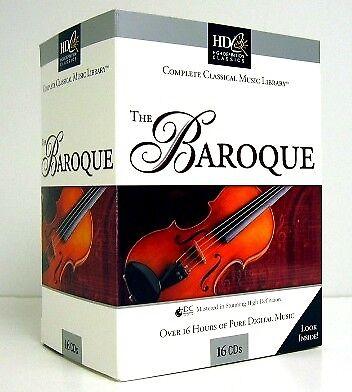 16 Cd Set Classical Baroque Music Vivaldi Handel Bach Free Us Shipping