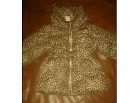 H&M coat.3-6months