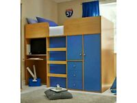 Kidspace mid sleeper without mattress