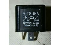 Mitsuba FR-2201 indicator relay for Honda BMW Aprilia NS125R F650GS
