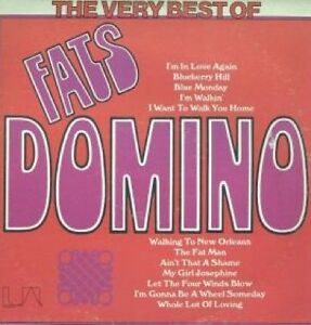 "Fats Domino ""best of"" oldies record album - 1950s R&B - like new"