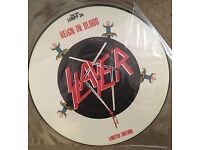 Limited Edition SLAYER Reign in Blood