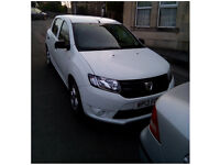 For Sale 2013 Dacia Sandero Turbo Diesel (1.5dCi – 90 BHP) -Ambiance- model + sound system (White)