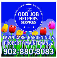 The Odd Job Helpers - Lawn & Property Maintenance
