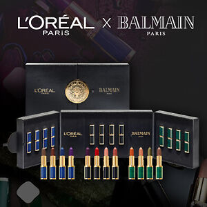 L'OREAL X BALMAIN LIMITED EDITION PR/INFLUENCER COLLECTION