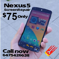Lg G2 G3 G4 Nexus 4 , 5 Screen Repair Promotion!! we fix&unlock!