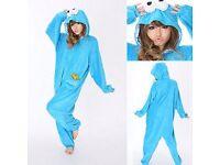 Novelty Cookie Monster Onesie