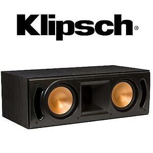 NEW KLIPSCH CENTER CHANNEL SPEAKER RC-62 II 245701950 BLACK 150W
