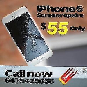 On the Spot Repairs- iPhone5/6/6+/6S/7/7+, Samsung S4/S5/S6/S6Edge/S7, Note3/4/5,LGG3/4/5,NEXUS 4/5, ONE PLUS