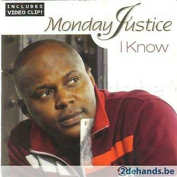 CD-Single Monday Justice: I know