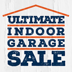 116 NORMAN ST. SATURDAY - HUGE INDOOR GARAGE SALE