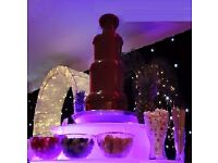 CHOCOLATE FOUNTAIN HIRE birthdays weddings parties events
