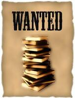 LOOKING FOR THE FOLLOWING UPEI BOOKS