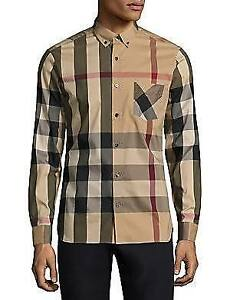 Burberry men's Slim Fit-Size XS Shirt classic check