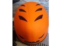 Hardnutz matte orange bike/ski/snowboarding helmet *MUST GO