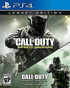 MINT CALL OF DUTY INFINITE WARFARE LEGACY EDITION SALE OR TRADE