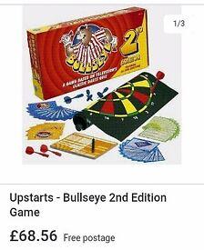 Classic bullseye boad game