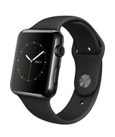 Apple Watch 42mm sport Black with Apple care