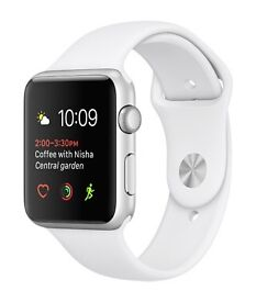 Apple Watch Series 2 42mm with extra midnight blue strap
