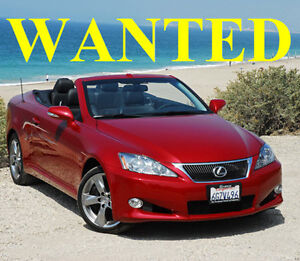 LEXUS Cabriolet     IS250     2010+