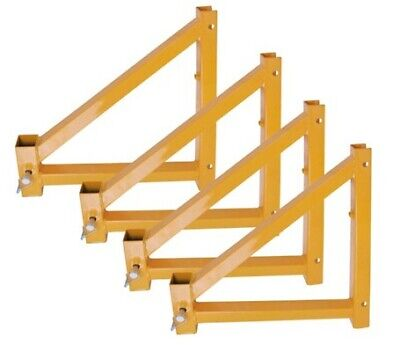 Pro-series Osha Approved Set Of 4 Outriggers With Locking Pins For 6 12 Or 18