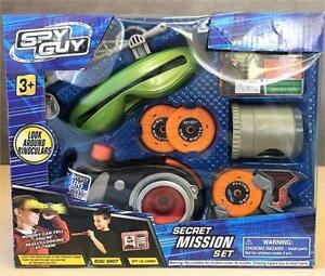 New, Spy Guy Secret Mission Set + Look Around Camera 3+