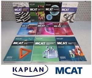 NEW KAPLAN MCAT BOOK SET 3RD ED   MCAT Test Prep 3rd Edition Series - TEXTBOOK EDUCATION SCHOOL BOOKS 92085022