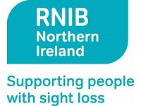 RNIB Talking Books Volunteer Co-ordinator (Fundraising) - Northern Ireland 10498