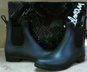 NEW! SAM EDELMAN 'TINSLEY' RAIN BOOTS. IN MATTE BLACK, WOMEN'S 5