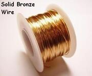 Solid Bronze Wire