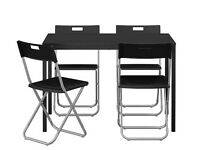 Dinning table + 4chairs