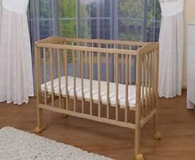 Baby bedside crib, co-sleeper