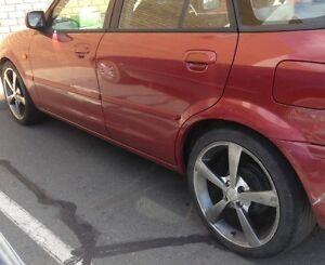 ZUZ Low profile five spoke Alloy wheels X 4 Shepparton Shepparton City Preview